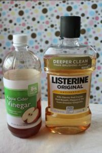 apple cider vinegar & listerine foot soak review
