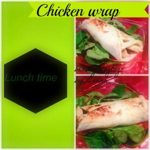 beautyblogtogo chickenwrap