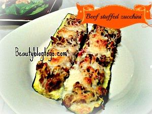 beef stuffed zucchini beautyblogtogo