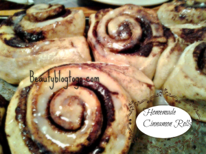 homemade cinnamon rolls beautyblogtogo
