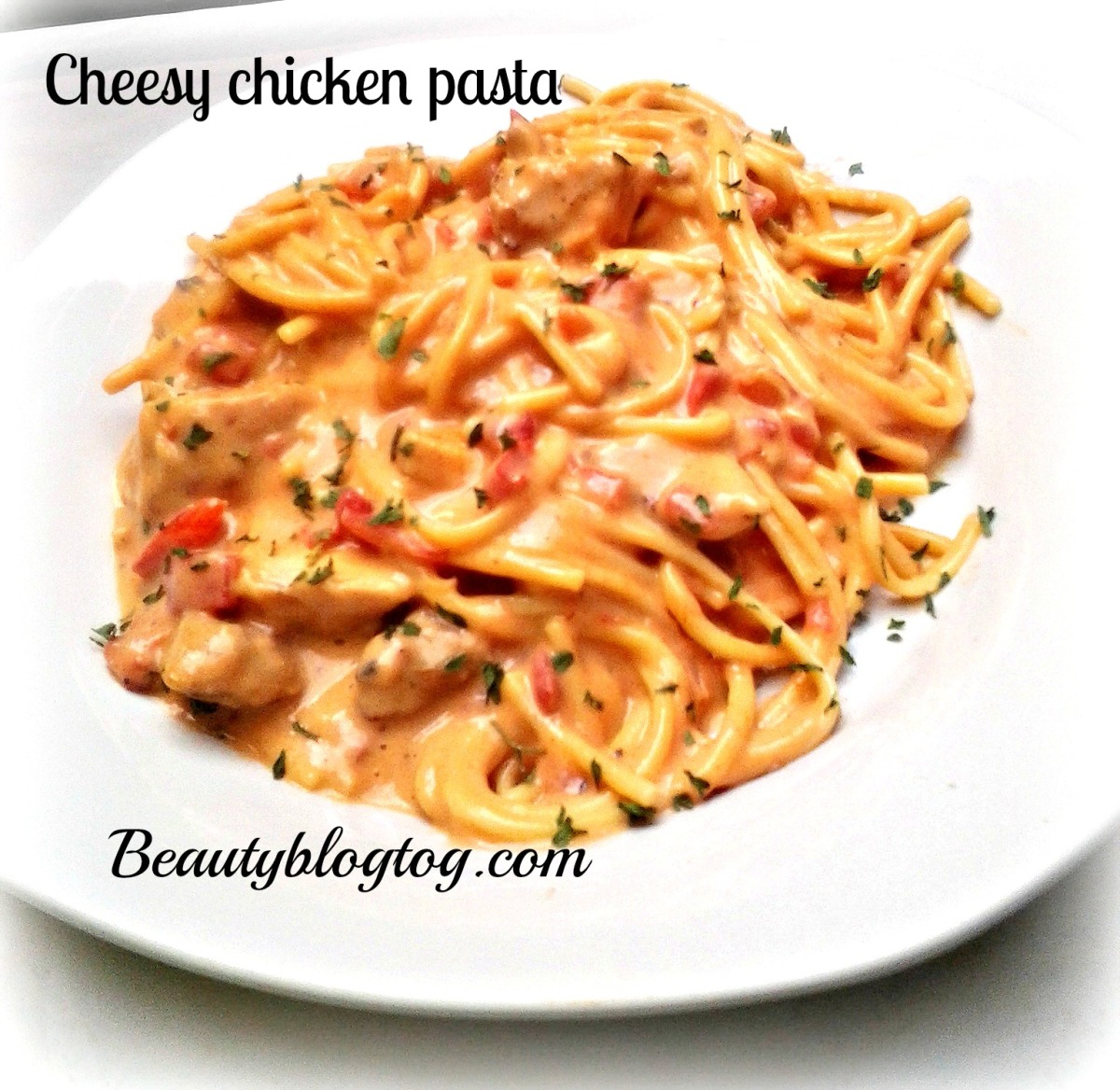 CHEESY CHICKEN PASTA RECIPE