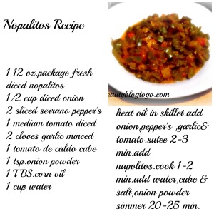 napolitos recipe