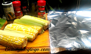 oven corn