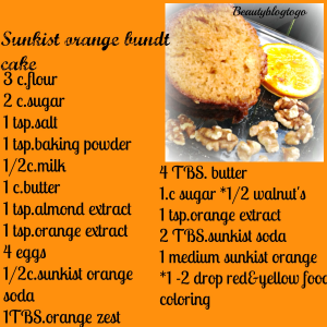 sunkist orange cake