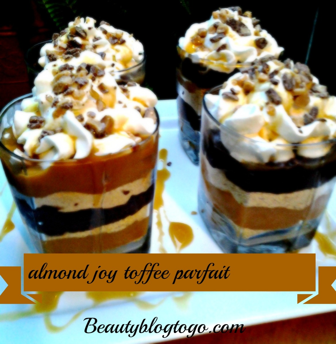 ALMOND JOY TOFFEE PARFAIT