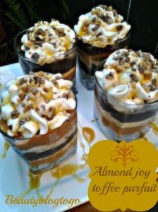 beautyblogtogo almond parfait