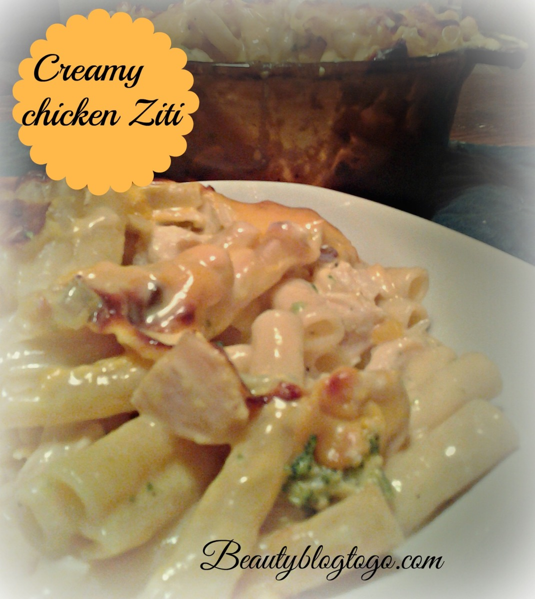 CREAMY CHICKEN ZITI RECIPE