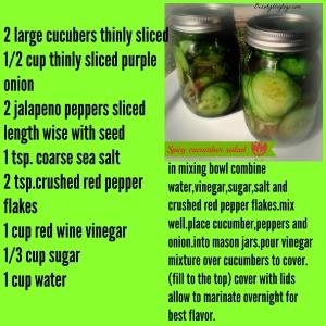 cucumbersaladrecipe beautyblogtogo
