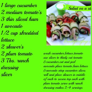 salad stick recipe beautyblogtogo